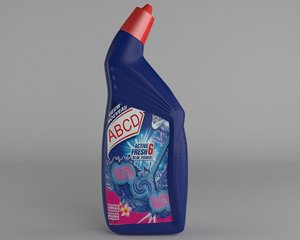 3D wc cleaning bottle