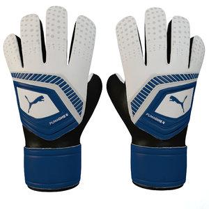 puma 4 glove 3D