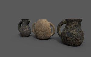 3D 3 jugs
