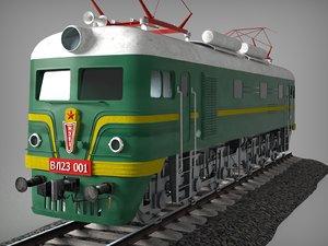 freight locomotive vl 23-001 3D