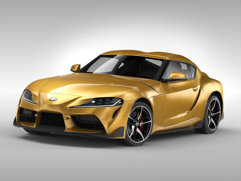 toyota car 3D model