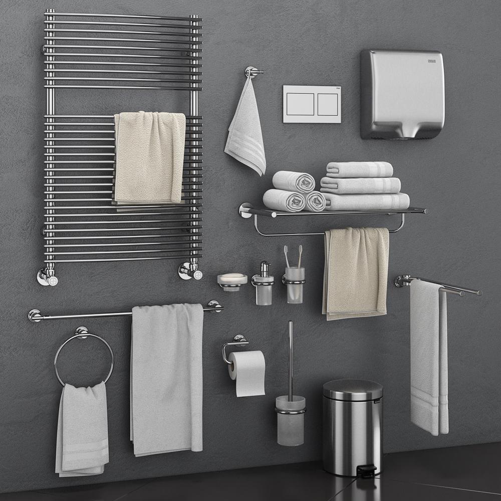 Bathroom Accessories.3d Bathroom Accessories Grohe Atrio Turbosquid 1459632