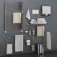 3D bathroom accessories grohe atrio