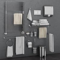 Bathroom accessories Grohe Atrio set 67