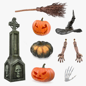 halloween decor 3D model