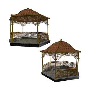structure architecture shelter 3D model