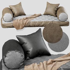 seat pillow 3D