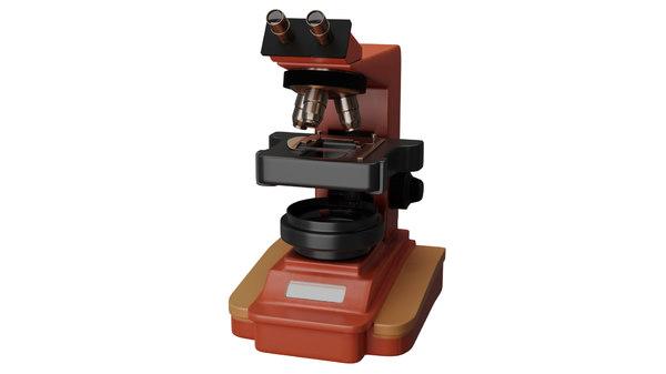 3D microscope science model
