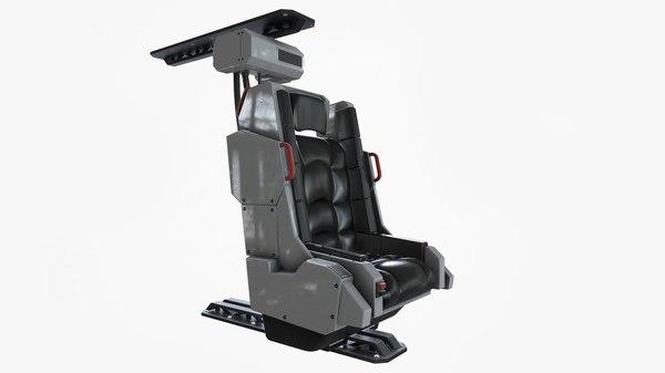 3D chair marmoset toolbag