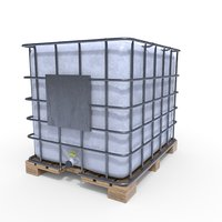 3D ibc container model