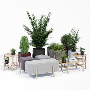 ashi tables 3D model