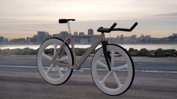 3D fixie bike