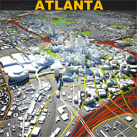Atlanta Skyline Complete
