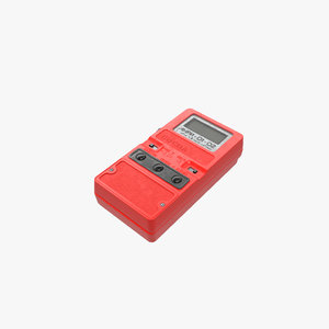 soviet dosimeter sosna 3D model