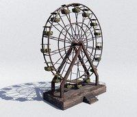 3D abandoned pbr model