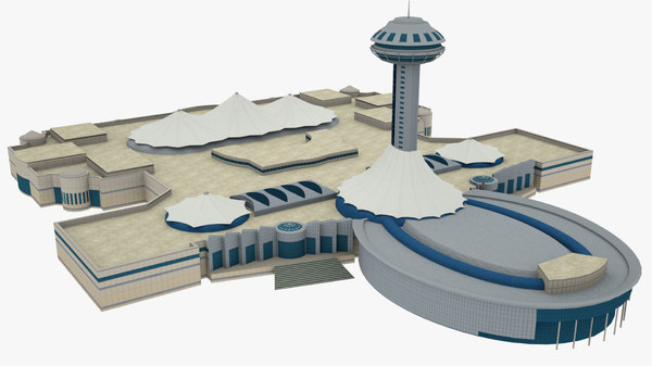 abu dhabi marina mall 3D model