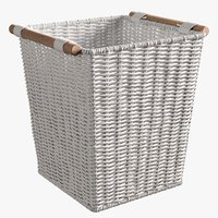 realistic zara tall basket 3D model