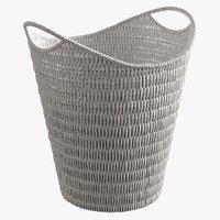 realistic paper basket 3D