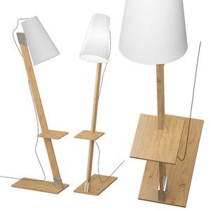 floor lamp nowodvorski torino 3D model