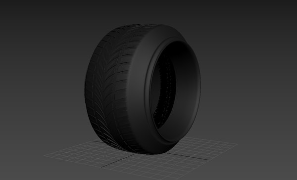3D stretched tire