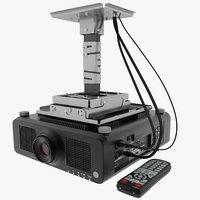 projector 3 3D model