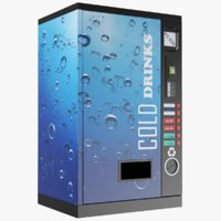 3D cold drinks vending machine