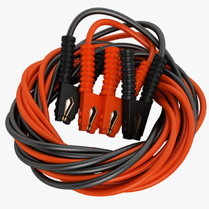 booster cable 1200 3D