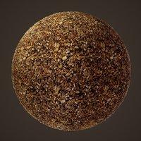 nut seed 3D model