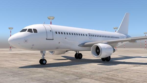 airbus a319 319 3D model