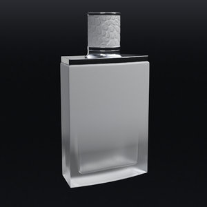 3D model perfume beauty fashion