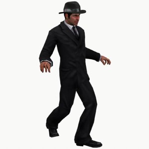 3D ready spy suit