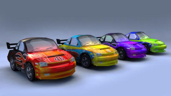 cars games 3D model