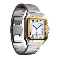 luxury watch santos cartier model
