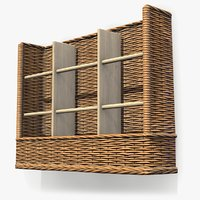 basket wall mounted 3D model