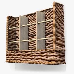 basket wall mounted 3D model