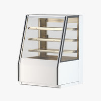 Refrigerated High Bakery Display Case