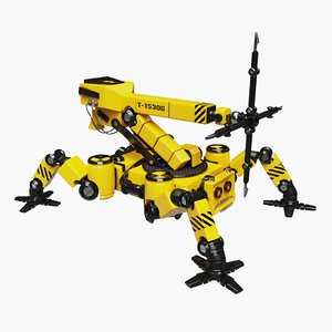 3D robot t1530g model