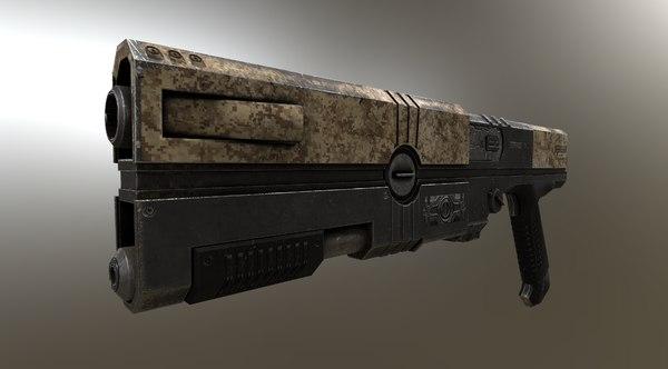 weapon games 3D model