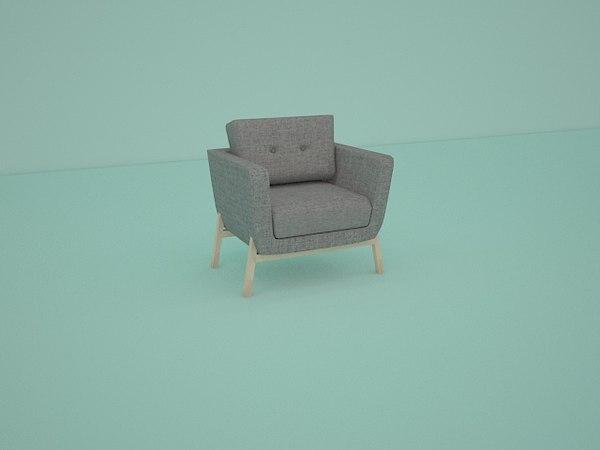 3D model chair sofa