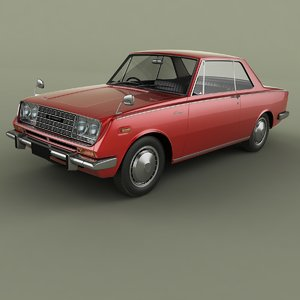 3D model 1969 toyota corona rt50