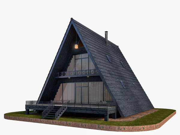 3D modeled house