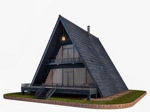3D modeled house