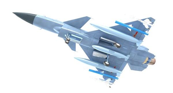 3D j10 j-10 j model