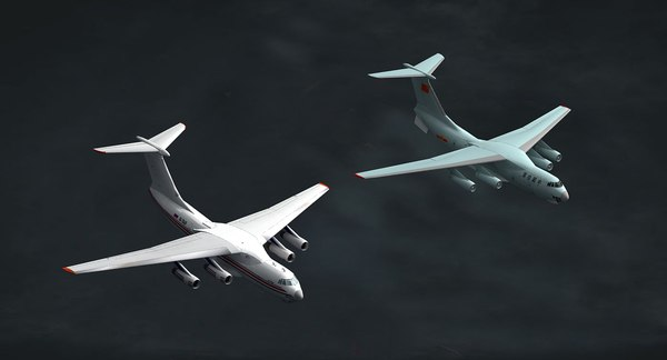 il76 il-76 3D