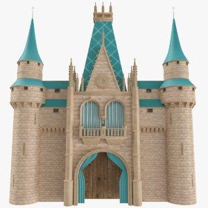 castle wall model