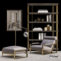 3D restoration hardware set model