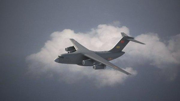 3D y-20 transport