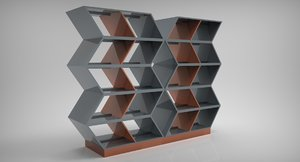 3D library puzzle