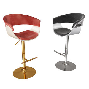 3D vismara bar stool