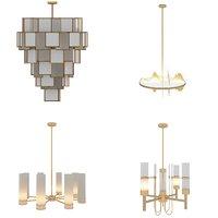 chandeliers interior 3D model